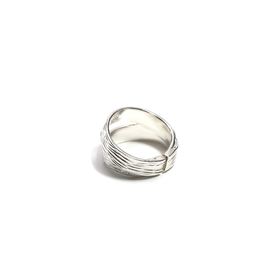 STERLING SILVER 2 BECOME 1 LOVE RING
