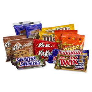 CANDY BARS & COOKIES VALUE PACKAGES