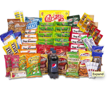 CHIPS, CANDY, MEAT SNACKS & MORE VALUE KIT