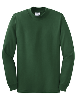 MEN'S LONG SLEEVE COTTON CREW NECK T-SHIRT | State Shops NY