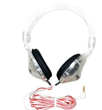 KOSS CL-20 CLEAR HEADPHONES | State Shops NY - State Shops NY
