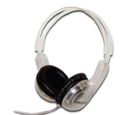 KOSS CL-5 CLEAR HEADPHONES - State Shops NY