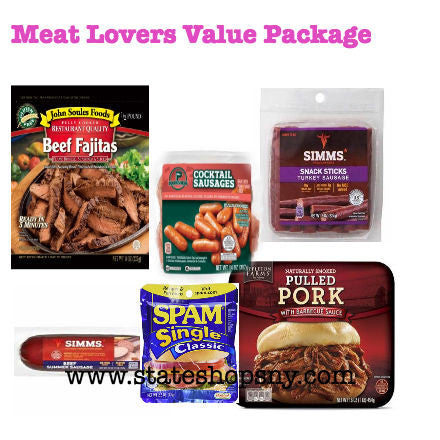 MEAT LOVERS INMATE VALUE-PREMIUM $59.99 - State Shops NY