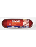 SIMMS BEEF SUMMER SAUSAGE 10.oz (ALL BEEF)