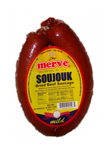 MERVE HALAL SOUJOUK DRIED BEEF SAUSAGE |State Shops NY