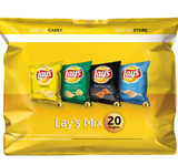 Lay's Family Fun Size Chips 20ct