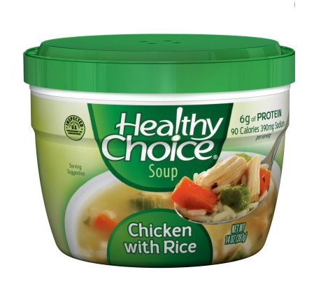 HEALTHY CHOICE SOUP, 14 OZ