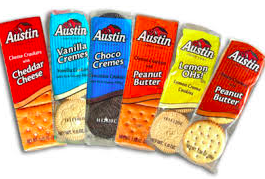 AUSTIN COOKIE & CRACKER VARIETY PACK 6PK