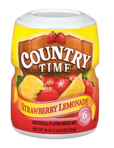 COUNTRY TIME LEMONADE DRINK MIX, 18 OZ - State Shops NY