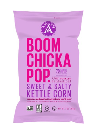 Angies Artisan Treats Boomchickapop Kettle Corn Sweet & Salty 7 oz