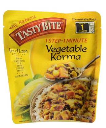 Tasty Bite Vegetable Korma Heat & Eat Entree, 10 oz Pouches