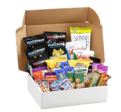 Healthy Snacks Care Package 31ct - State Shops NY
