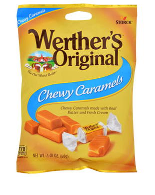 Werther's Original Chewy Caramels, 4-oz. - State Shops NY