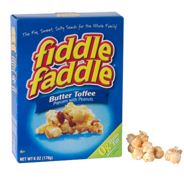 Fiddle Faddle Butter Toffee Popcorn with Peanuts - State Shops NY