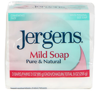 Jergens Mild Soap Bars, 3-ct. Packs - State Shops NY