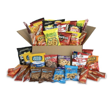Bundle of Chips, Cookies, Crackers Value Package 40ct
