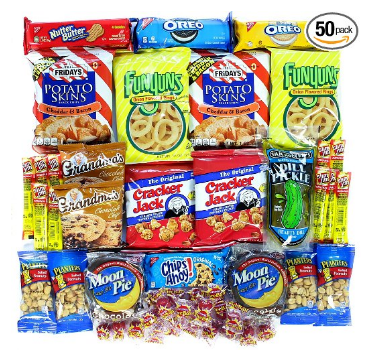 Hot & Spicy Chips & Candy Value 50ct