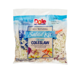 Dole Creamy Cole Slaw Kit All Natural