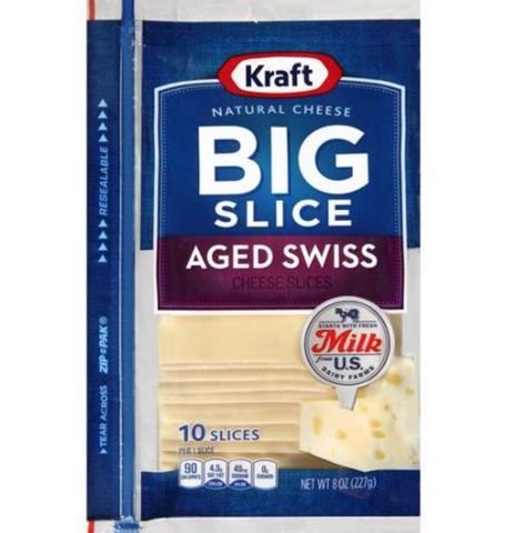 Kraft Big Slices 10ct