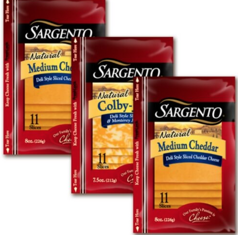 Sargento Cheese Slices 11ct