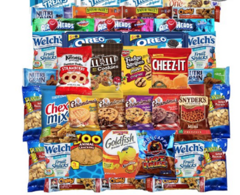Chips Cookies Candies & Snacks Care Package 40ct - State Shops NY