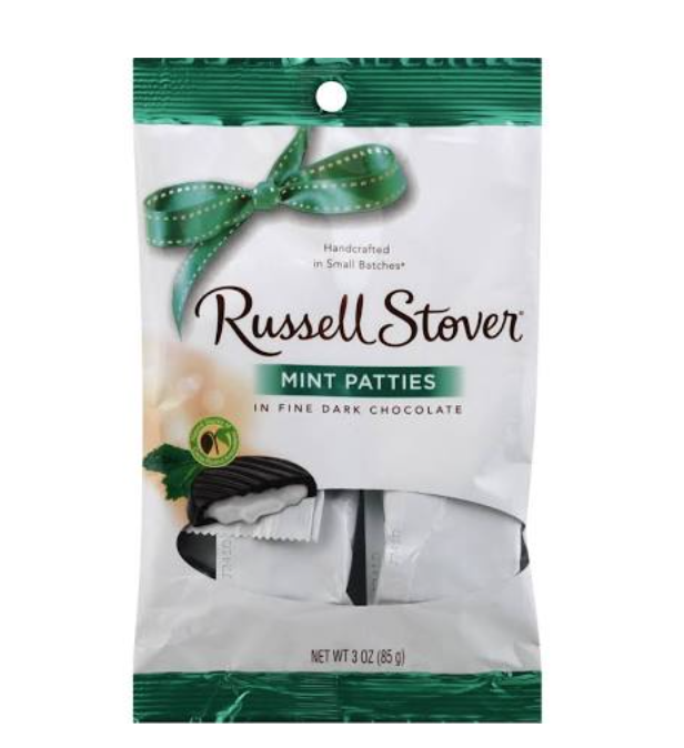 Russell Stover Mint Patties 3 oz