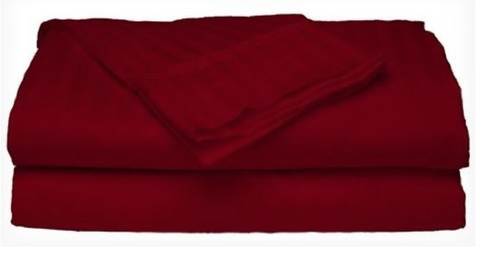 300 Thread Count Sateen Dobby Stripe Sheet Set