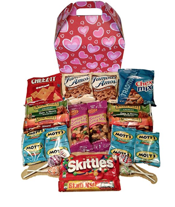 Sweetheart Snack Box Care Package - State Shops NY
