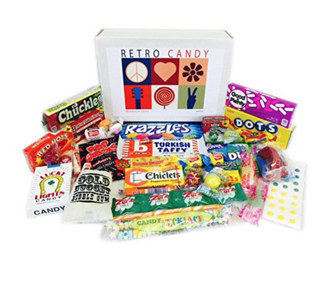 Retro Candy Care Package w/Card - State Shops NY