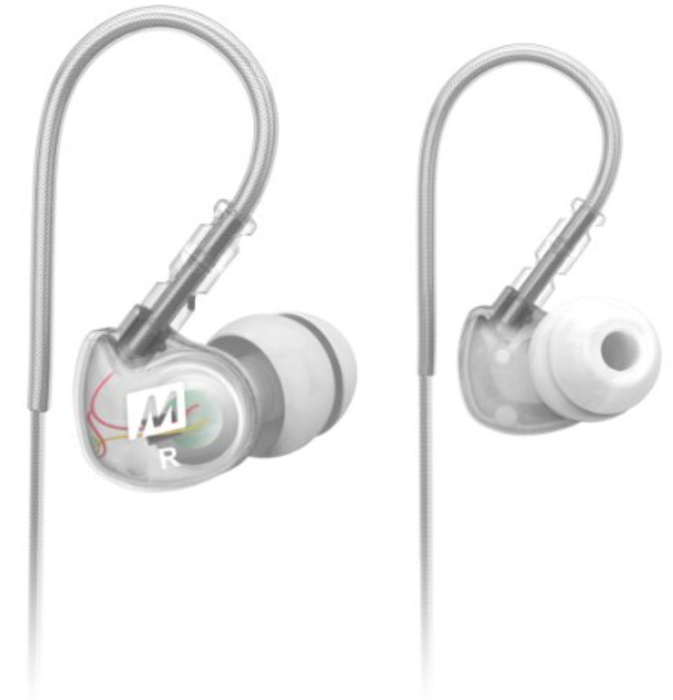 Clear Noise Isolating In-Ear Headphones