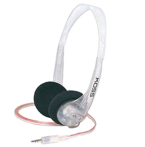 Koss CL-2 Clear Stereo Headphones - State Shops NY