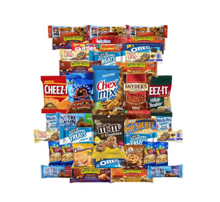 CHIPS, PRETZELS, TREATS VALUE PACK (40) - State Shops NY