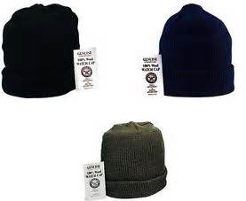 100% Wool Beanie Hat & Gloves Set