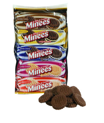 MINNIES SANDWICH COOKIES, 10-CT. PACKS | State Shops NY