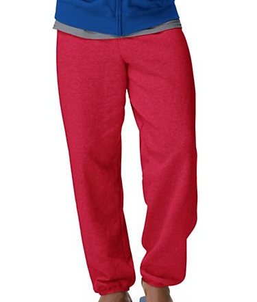 HANES COMFORTBLEND MEN'S SWEATPANTS-NO POCKETS