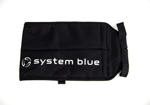 System Blue Double Marching Stick Bag