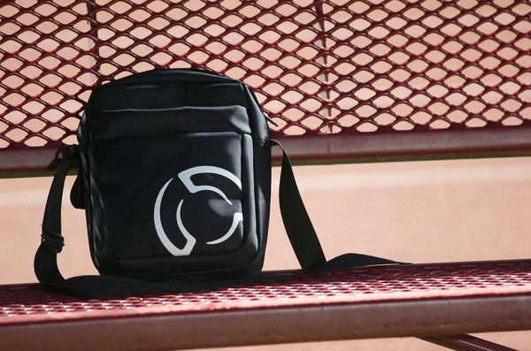 System Blue Shoulder Bag - Black