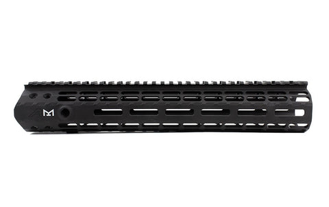 "AERO PRECISION M5 12"" ENHANCED M-LOK HANDGUARD GEN 2 WITH DPMS BARREL NUT - ANDODIZED BLACK"