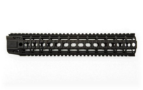 "AERO PRECISION 12"" AR-15 ENHANCED QUAD RAIL HANDGUARD - BLACK"
