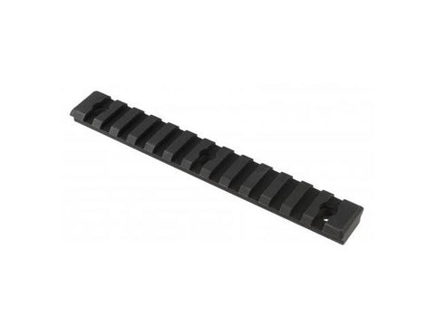 "ANDERSON 5.63"" RAIL FOR THE EXT FOREARM (3 HOLE) - ANDODIZED BLACK"