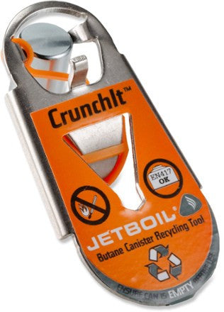 JETBOIL CRUNCHIT BUTAN CANISTER RECYCLING TOOL