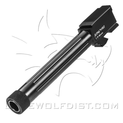 LONE WOLF ALPHA WOLF BARREL FOR M17 9MM THREADED 1/2X28