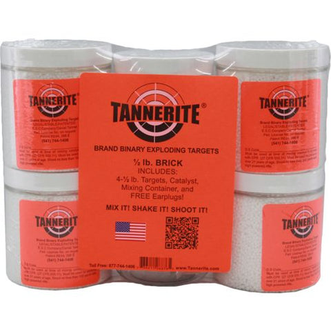 TANNERITE 4 PACK - CASE OF 1/2 TARGETS