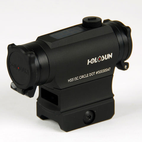HOLOSUN  HS515C CIRCLE DOT AND SOLAR SIGHT