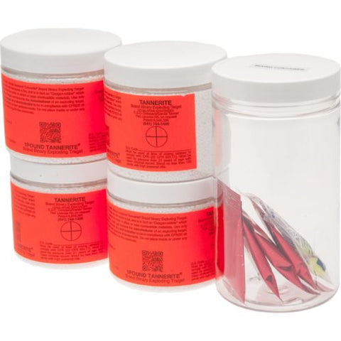 TANNERITE 4 PACK - CASE OF 1 LB TARGETS