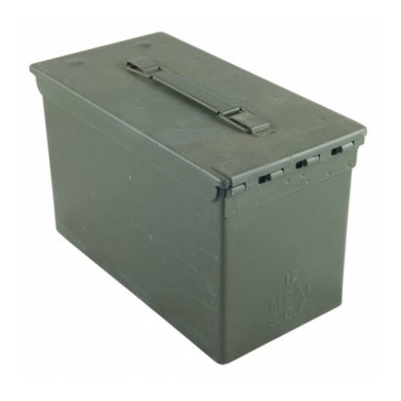 B-WAY 50 CALIBER AMMO CAN - FOREST GREEN