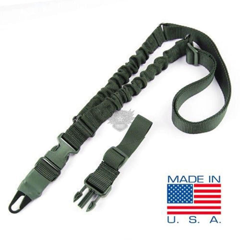 CONDOR ADDER DUAL BUNGEE ONE POINT SLING - OD GREEN
