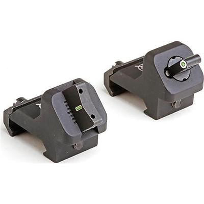 XS AR-15/M-16 XPRESS THREAT SIGHT SET - 24/7 STANDARD DOT TRITIUM