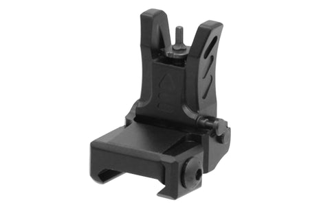 UTG MODEL 4 LOW PROFILE FLIP UP FRONT SIGHT FOR HANDGUARD - BLACK