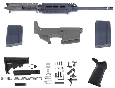 80% 6.5 GRENDEL AR15 RIFLE BUILD KIT - MAGPUL ODG CERAKOTE